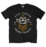 Camiseta Five Finger Death Punch de homem - Design: Chevron