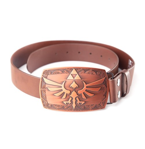 Cinto The Legend of Zelda  - Zelda Brown Patina