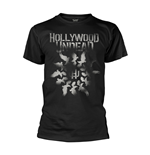 Camiseta Hollywood Undead Dove Grenade Spiral
