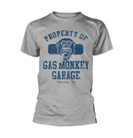 Camiseta Gas Monkey Garage - Property Of Gmg Dallas