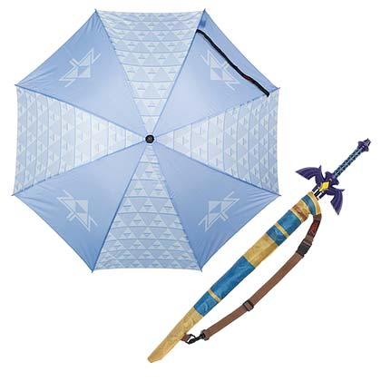 Guarda-chuva The Legend of Zelda - Triforce Sword
