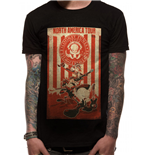 Camiseta Looney Tunes - Tour Poster