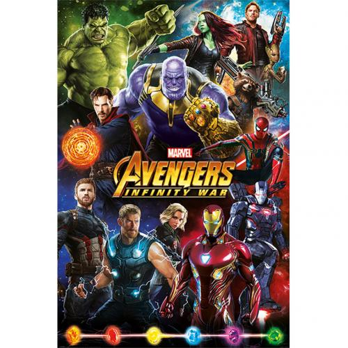Póster The Avengers Infinity War 201