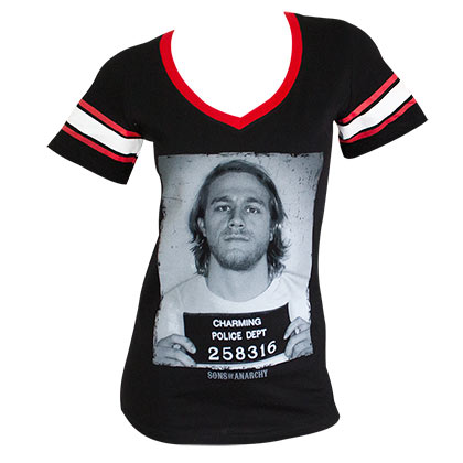 Camiseta Sons of Anarchy de mulher