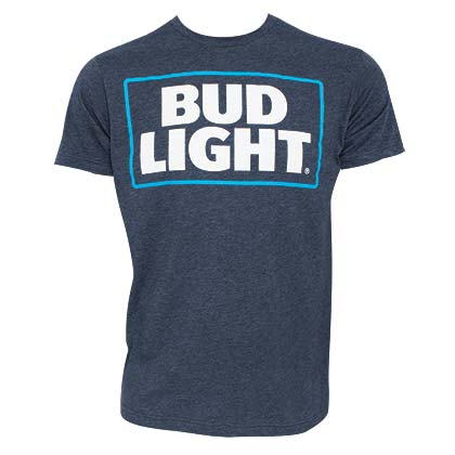 Camiseta Bud Light Basic Logo Azul