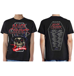 Camiseta Alice Cooper Men's Tee: Love The Dead (Dec 2017) (Ex Tour/Back Print)