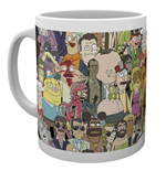 Caneca Rick and Morty 293801
