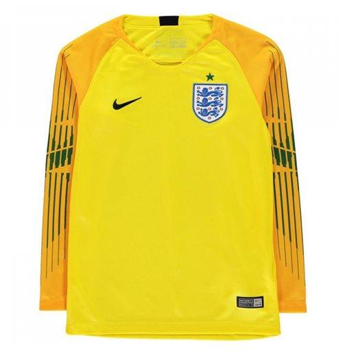 Compra Camiseta Goleiro Inglaterra Futebol 2018-2019 Home (Amarelo) ec51815788c46
