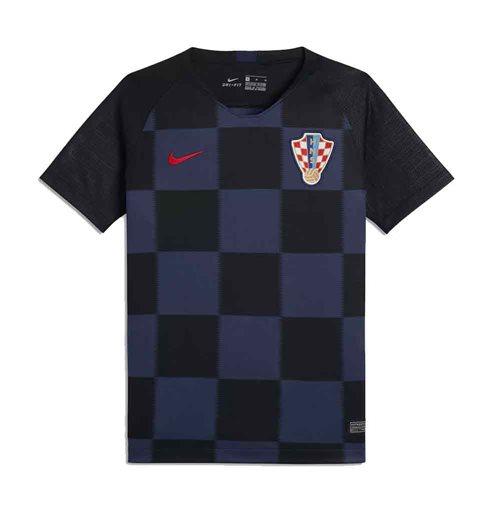 544631a195402 Compra Camiseta Croácia Futebol 2018-2019 Away de criança Original