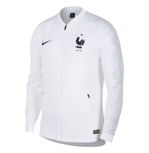 Compra Jaqueta França Futebol 2018-2019 (Branco) Original 9d41990c60174