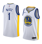 Camiseta Golden State Warriors Javale McGee Nike Association Edition Réplica