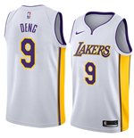 Camiseta Los Angeles Lakers Luol Deng Nike Association Edition Réplica