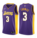 Camiseta Los Angeles Lakers Isaiah Thomas Nike Statement Edition Réplica