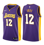 Camiseta Los Angeles Lakers Channing Frye Nike Statement Edition Réplica