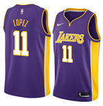 Camiseta Los Angeles Lakers Brook Lopez Nike Statement Edition Réplica