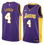 Camiseta Los Angeles Lakers Alex Caruso Nike Statement Edition Réplica