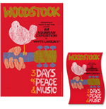 Poster Woodstock - Design: Classic Vintage Poster