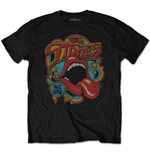 Camiseta The Rolling Stones de homem - Design: Retro 70s Vibe