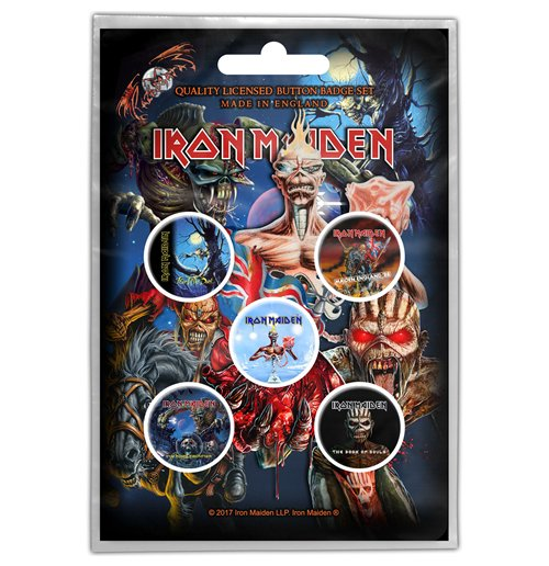 Broche Iron Maiden - Design: Later Albums
