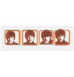 Logo Beatles - Design: Heads in Boxes