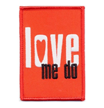Logo Beatles - Design: Love me do