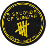 Logo 5 seconds of summer - Design: Derping Stamp