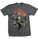 Camiseta Star Wars de homem - Design: Solo Troopers Comp