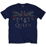 Camiseta Queen de homem - Design: Union Jack