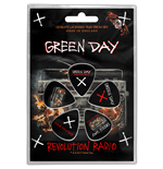Palheta Green Day - Design: Revolution Radio