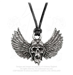 Pingente Airbourne - Design: Winged Skull