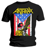 Camiseta Anthrax de homem - Design: Dread Eagle
