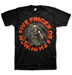 Camiseta Five Finger Death Punch de homem - Design: Seal of Ameth