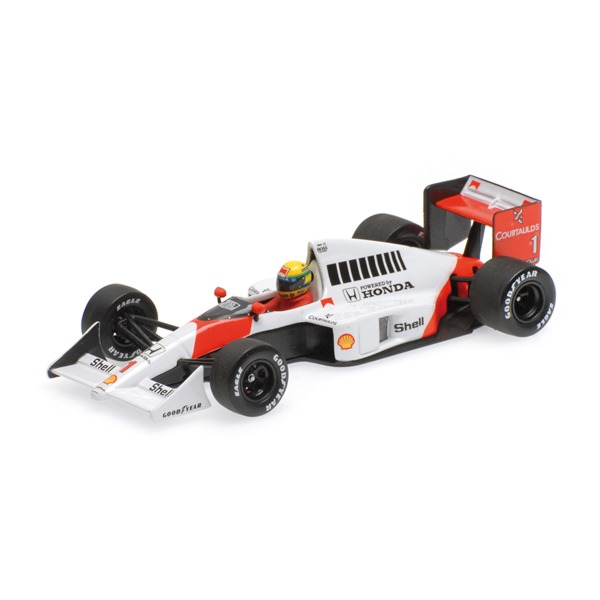 McLAREN HONDA MP4-5 AYRTON SENNA VICE WORLD CHAMPION FORMULA 1 1989