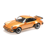 PORSCHE 911 TURBO 1977 ORANGE METALLIC