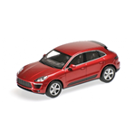 PORSCHE MACAN 2013 RED METALLIC