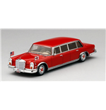 MERCEDES BENZ 600 PULLMAN 1972 RED BARON THE HILTON FAMILY