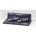 WILLIAMS BMW FW24 MALAYSIAN GP 2002 1-2 FINISH SET