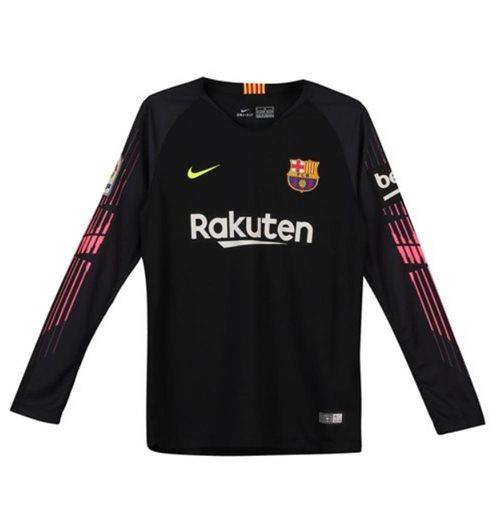 7bf5a1906b Camiseta 2018 2019 Barcelona 2018-2019 Home (Preto) Original Online