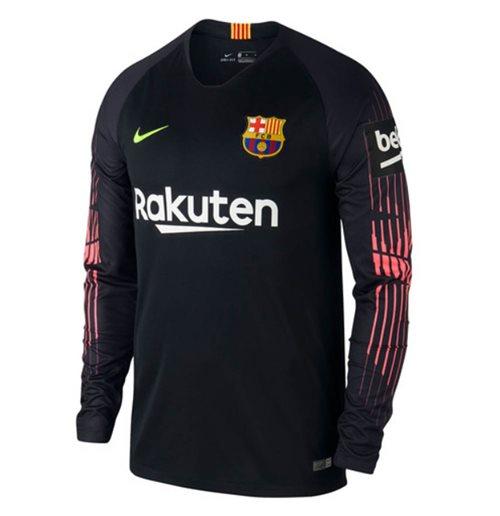 Camiseta 2018 2019 Barcelona 2018-2019 Home (Preto) Original Online 6635bc2afcfb8