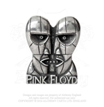 Broche Pink Floyd - Design: Division Bell Heads
