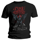 Camiseta Ozzy Osbourne de homem - Design: Angel Wings
