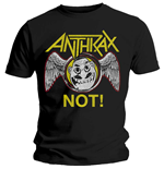 Camiseta Anthrax Not Wings