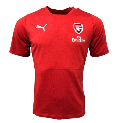 Camiseta Arsenal 2018-2019 (Vermelha)