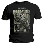 Camiseta Five Finger Death Punch de homem - Design: War Soldier