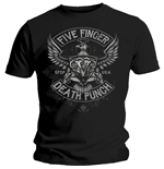 Camiseta Five Finger Death Punch de homem - Design: Howe Eagle Crest