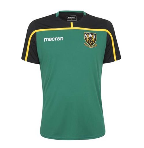 Camiseta Northampton Saints 2018-2019 (Verde)