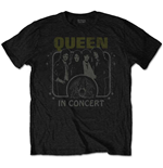 Camiseta Queen de homem - Design: In Concert