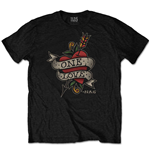 Camiseta Nas de homem - Design: Love Tattoo