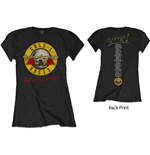 Camiseta Guns N' Roses de mulher - Design: Not In This Lifetime Tour