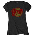 Camiseta David Bowie de mulher - Design: Diamond Dogs Vintage